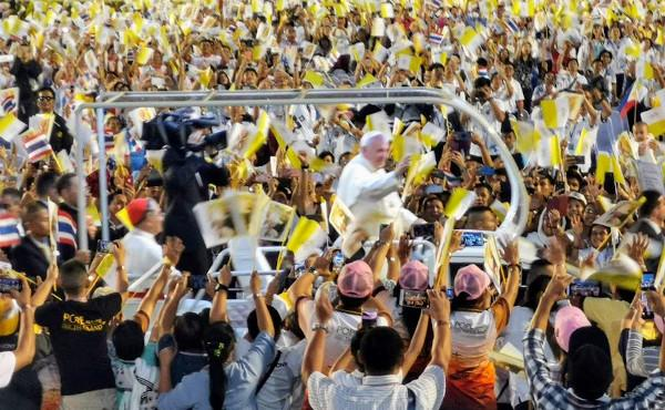 A Rendezvous with Pope Francis in Thailand