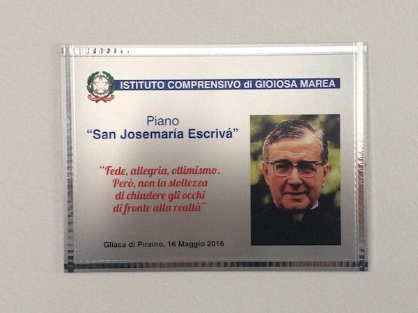 In cammino…lungo la via stretta: una intitolazione a san Josemaría e al beato Puglisi