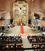 Ordenações sacerdotais em Torreciudad, em 6 de setembro de 2009