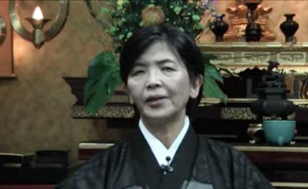 Teruko, buddista e cooperatrice non cattolica