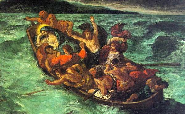 Opus Dei - La tempestad en la barca