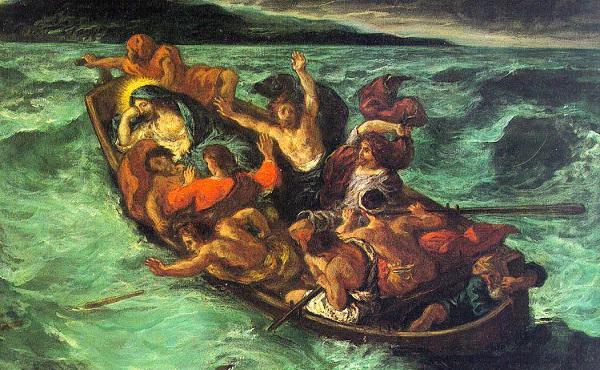 Uciszenie burzy na jeziorze