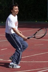 'En el tenis no acabo de coger la postura'