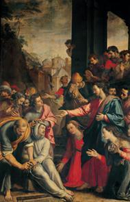 Het medelijden van Jezus