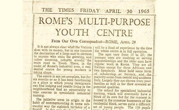 Opus Dei - ELIS raccontato dal Times
