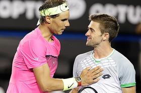 Tim Smyczek, el tenista del deportivo gesto con Rafa Nadal