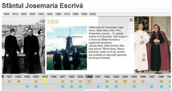 Strona internetowa poświęcona św. Josemaríi w języku rumuńskim