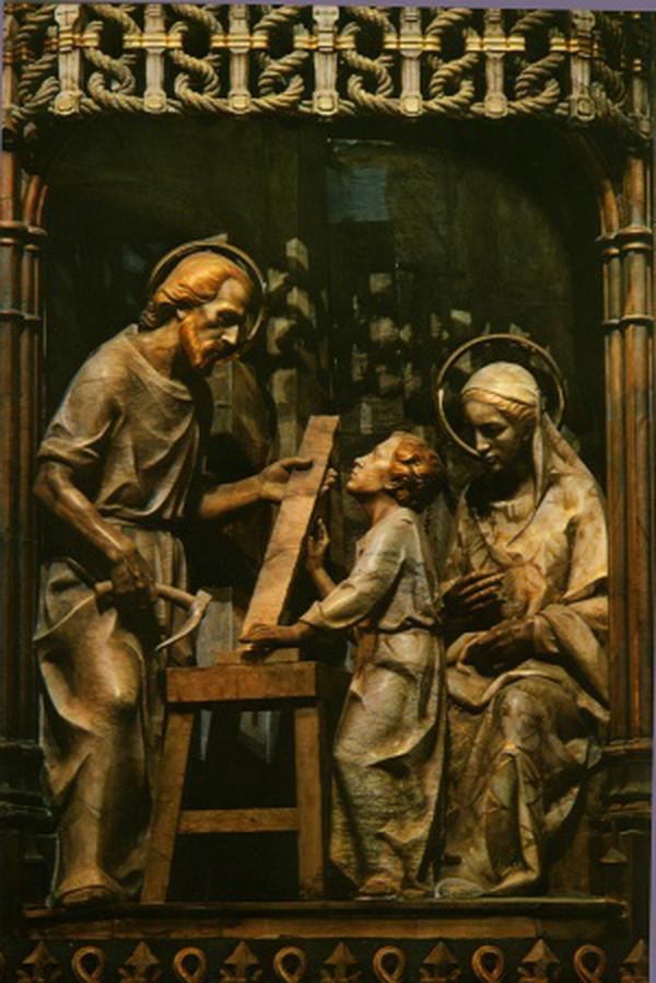 Praying with Saint Joseph
