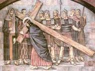 """""""Het Kruis - het heilig Kruis! - is zwaar"""""""