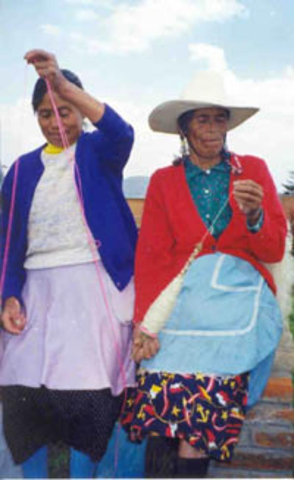 Un dispensario médico en México