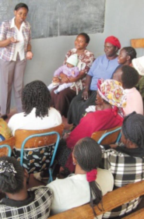 Kenia: mujeres que se ayudan entre sí