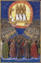 La Trinité et tous les saints, Jean Fouquet (XVème s.)