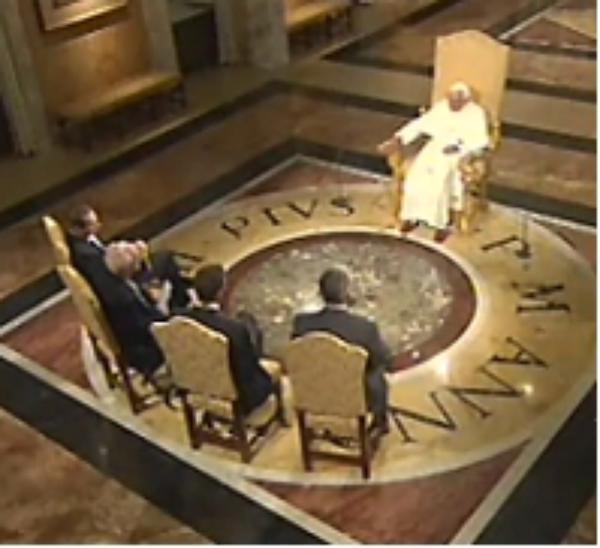 """Benedicto XVI: """"Tenemos un mensaje positivo que proponer"""""""