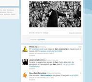 Suivez la messe du 26 juin à Rome à travers Twitter