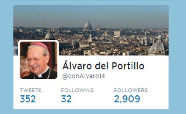 Álvaro del Portillo en Twitter