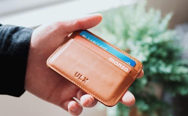 Una carta di credito