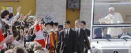 Bendiktas XVI UNIV kongreso dalyviams