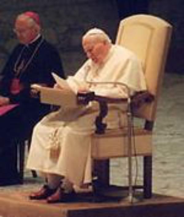 """Juan Pablo II a los jóvenes del UNIV: """"Resistid a la tentación de la mediocridad"""""""