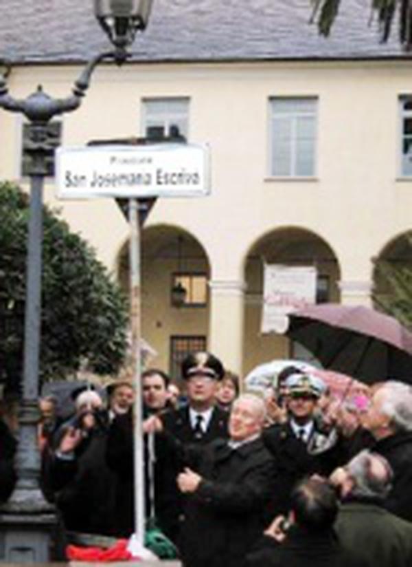 Dévotion à saint Josémaria en Italie