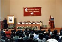 Mons. Jesús Moliné clausuró el congreso.