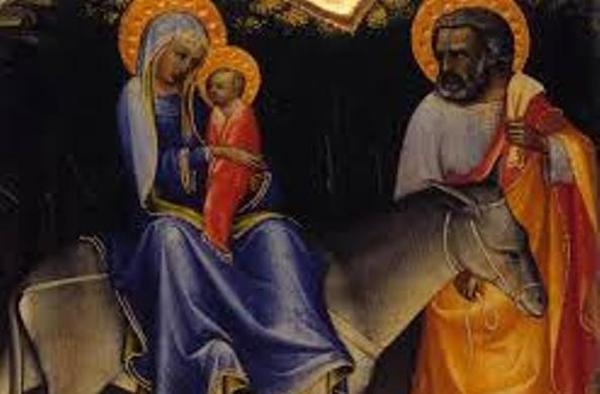Život Panny Márie (X): Útek do Egypta