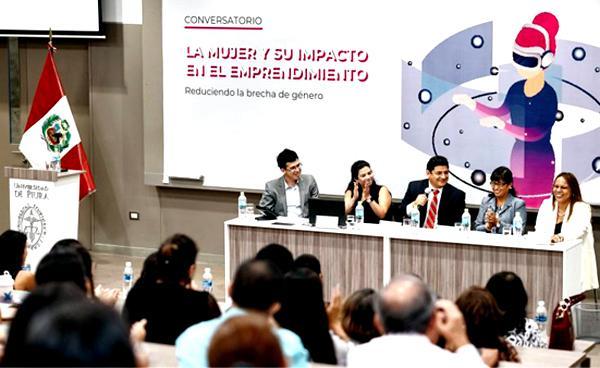 Emprendedoras compartieron algunas claves del éxito en un conversatorio en la UDEP