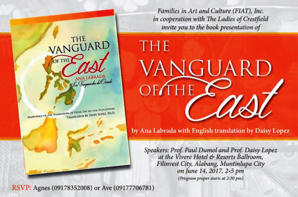 Opus Dei - New Book: The Vanguard of the East