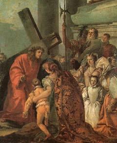 제 8 처  예수께서 예루살렘 부인들을 위로하심