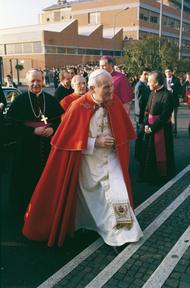 Saint Jean-Paul II et  Saint Josémaria