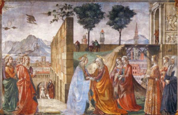 Життя Марії: Відвідання св. Єлисавети