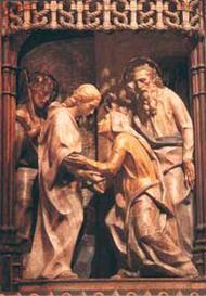 A Visitação de Nossa Senhora a sua prima Santa Isabel
