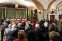 El acto tuvo lugar en la cripta de la Basílica de San Miguel, en Madrid.