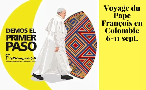 Opus Dei - Voyage apostolique du Pape François en Colombie