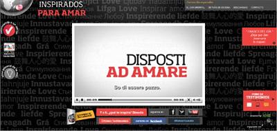 Immagine del website che offre il documentario intero anche in italiano e permette ai lettori di inviare la loro testimonianza su come san Josemaría ha ispirato alcuni aspetti della loro vita.