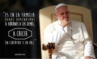 10 reflexiones del Papa Francisco sobre la familia