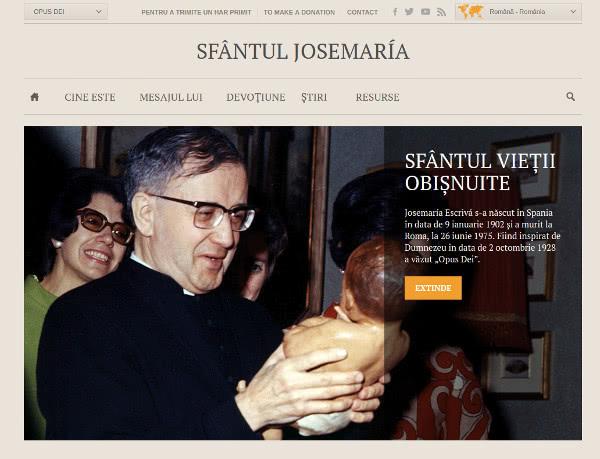 Opus Dei - www.josemariaescriva.info fuzionează cu www.opusdei.org