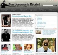 Novo website sobre San Josemaría