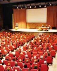 Study conference on Blessed Josemaria at the Congress Hall of Brussels