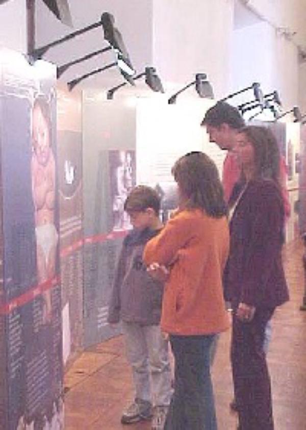 Exposición en el Cabildo de Montevideo
