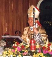 Cardinal Paul Shan, S.J., presided at a commemorative mass in Hua Shan Church in Taiwan.