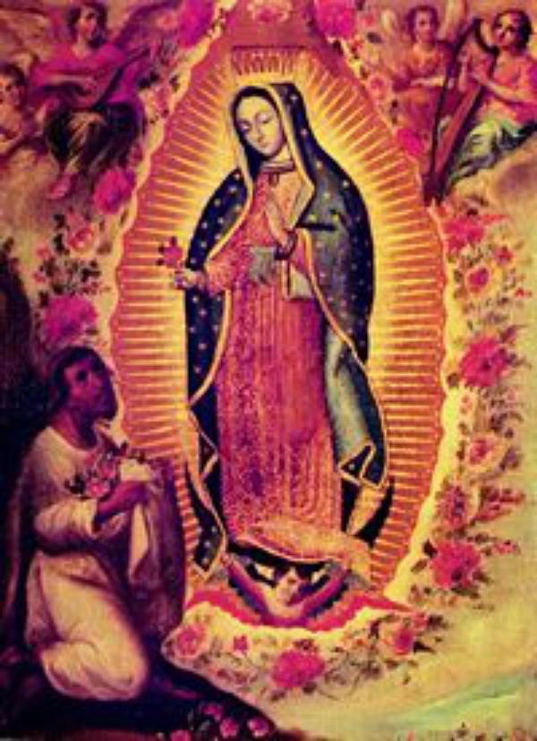 Dois santos unidos pelo amor à Virgem Maria