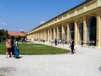 La 'Orangerie' del palacio vienés de Schönbrunn.