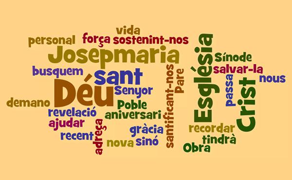 Opus Dei - Missatge del prelat (1 de setembre de 2018)