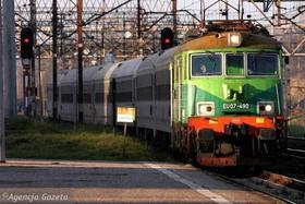 Vördnad för Isidoro i de polska järnvägarna
