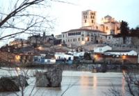 Zamora, vista de la catedral