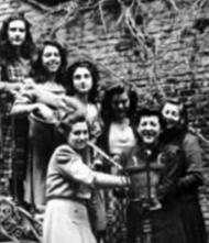 Estudiantes de la Residencia Zurbarán.