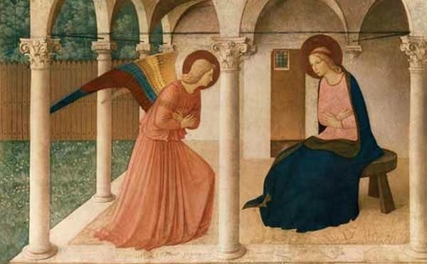 Život Panny Márie (V): Zvestovanie Panne Márii