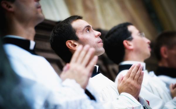 Duhovniško posvečenje - posnetek